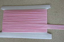 Bias binding Pink Poly Cotton 25mm(1inch)  x 10m