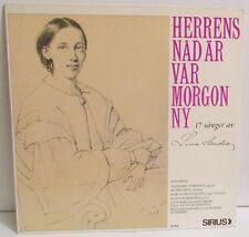 Herrens Nåd Är Var Morgon Ny 17 Sånger av Lina Sandell LP Vinyl Sirius Sweden