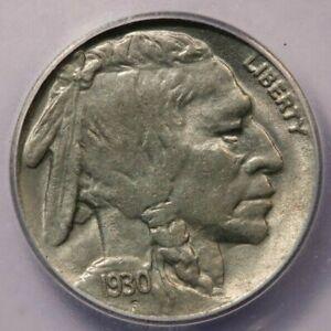 1930-S 1930 Buffalo Nickel ICG AU58 Lamination