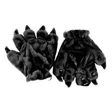Animal Furry Kigurumi Warm Plush Cosplay Colors Paw Gloves Unisex Claw Props Y2