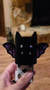 NEW Bath & Body Works Halloween VELVET BAT Wallflower Plug-In Diffuser~2021