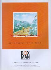 Boxman E-ffortless Shopping Online 1999 Magazine Advert #577