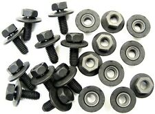 Volvo Body Bolts & Barbed Nuts- M6-1.0mm x 16mm Long- 10mm Hex- Qty.20- #376
