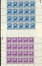 Monaco 1923 65-69 pequeños arcos ** (41125c