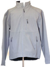 10,000 Feet Above Sea Level Gray Zip Front Jacket with Fleece Lining XL