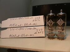 Matched pair e180cc TELEFUNKEN Heerlen Holy Grail o-magnetiche NOS Tube Valvola #2