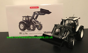 WIKING 1:32 SCALE VALTRA T174 T SERIES WITH LOADER (WHITE) 07815