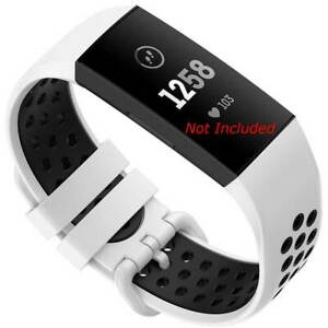 Sports Strap for Fitbit Charge 2 3 4 Replacement Band Secure Wristband HR