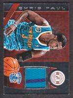 2013-14 Totally Certified Materials Red #169 Chris Paul 054/149 Jersey Hornets