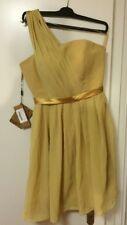 Short dress, kurzes Ballkleid (gold)