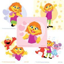 "25 Sesame Street Julia Stickers, 2.5""x2.5"" ea., Party Favors"