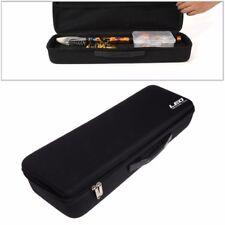 Fishing Tackle Bag Portable EVA Shockproof Rod Lure Reel Zip Carry Storage Case