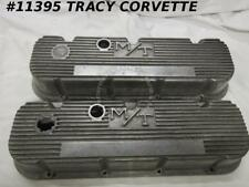 1965-80 BB Chevy Mickey Thompson Used 3276396 Finned Aluminum Valve Covers/Pair