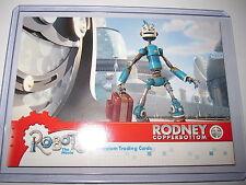 ROBOTS THE MOVIE PROMO CARD RODNEY COPPERBOTTOM P-1 MINT CARD CARTE