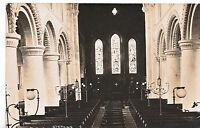 Sussex Postcard - Interior of Steyning Church      ZZ3304