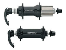 Campagnolo RECORD Front & Rear Hub Set w/Quick Releases : Black 32 Hole