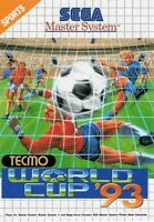 TECMO World Cup '93 - SEGA Master System (Complete & Good Condition)