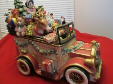Fitz and Floyd Signature Series Santa Car in Box