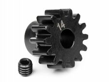 HPI RACING 100913 PINION GEAR 14 TOOTH 1M  5mm SHAFT SAVAGE FLUX VORZA HS