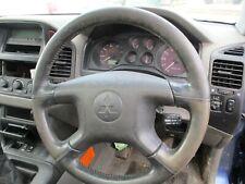 Mitsubishi shogun steering wheel leather  99-06 pajero mk3