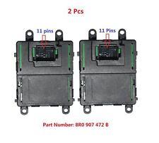 2PC 8R0907472B XENON LED Scheinwerfersteuergerät Modul für Audi Q5 2009-2012 Neu