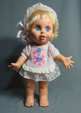 VINTAGE GALOOB BABY FACE DOLL #7 SO INNOCENT SYNTHIA ORIGINAL OUTFIT