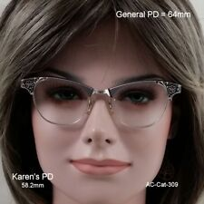 Art Craft - Cat Eye - True Antique Eyeglasses & Case