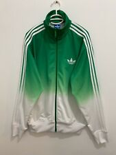 Adidas Originals ADI-Firebird Track Top Jacket Green White Size L V12763