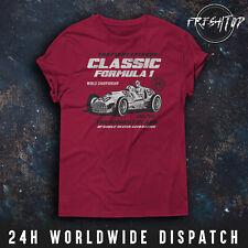 Formula 1 T Shirt Classic F1 World Championship Ferrari Mclaren Lewis Hamilton