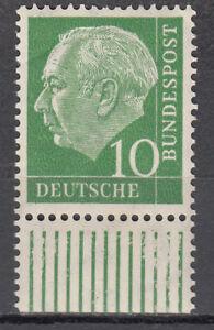 BRD 1954 Mi. Nr. 183 mit Rand Postfrisch LUXUS!!! (29868)