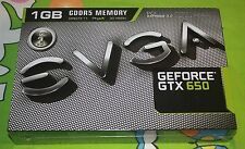 BRAND NEW EVGA NVIDIA GeForce GTX 650 (01G-P4-2650-KR) 1GB Graphic Card