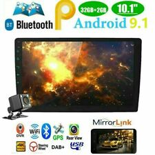 """2+32 10.1"""" Android 9.1 Double 2Din Car Stereo Radio MP5 Player GPS Wifi OBD2 DAB"""