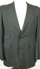 GORGEOUS Anthony Hewitt Saville Row London Charcoal Gray Sport Coat 40L