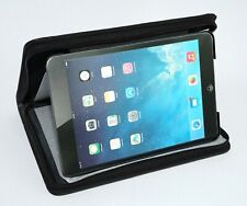 Filofax Pennybridge Black Zipped iPad Mini Faux Leather Folding Case and Stand