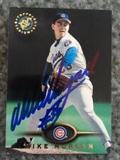 MIKE MORGAN signed baseball card CHICAGO CUBS autograph