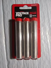 3 x Lot Pro Electrical Solder Lead Free Rosin Core 99.3 Tin .7 Copper 38 Grams