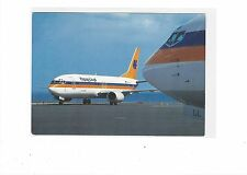 Hapag-Lloyd Airlines issued Boeing 737-400 cont/l postcard
