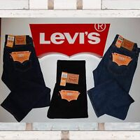 Levi's 501 Mens Jeans Straight Fit BNWT-100% Authentic RRP £75 Our Price £49.99