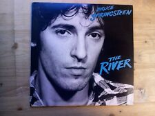 Bruce Springsteen The River EX 2 x Vinyl LP Record CBS 88510 + Inners & Lyrics