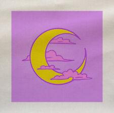 POP Art Luna Nuvole in Tessuto Cotone Tappezzeria Quilting Custom Craft 2367888