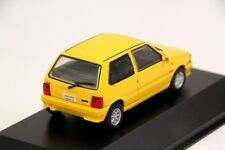 Fiat Uno Turbo I.E. 1994 Brazil Rare Diecast Scale 1:43 New W/ Stand From China