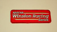 Vtg NASCAR Winston Racing Series Cigarette Cloth Car Jacket Patch New NOS 1980s