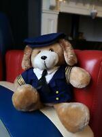 """Vintage Clifford B McGuire Pilot dog Plush 12"""""""