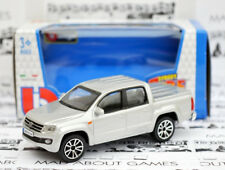 VW AMAROK 1:43 Car NEW Model Diecast Models Die Cast Metal Silver Volkswagen