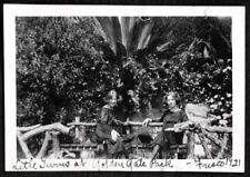 VINTAGE PHOTOGRAPH '21 GIRLS GOLDEN GATE PARK SAN FRANCISCO CALIFORNIA OLD PHOTO