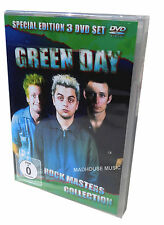 GREEN DAY DVD x 3 Rock Masters Collection  American Idiot / Dookie Review SEALED