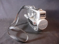 Old Vtg Honeywell Elmo Dual Filmatic Movie Camera W/Shoulder Strap Japan