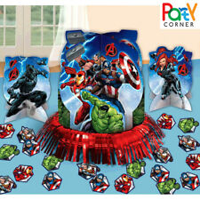 AVENGERS BIRTHDAY PARTY SUPPLIES TABLE DECORATING KIT GENUINE LICENSED