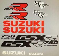 Suzuki GSXR750 GSXR750J restauración Decal Set 1988