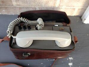 Vintage Portable Magneto Iwatsu Telephone Ex SRA Railways NSW